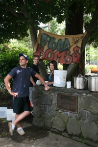 Food not Bombs Provides Free, Healthy, Vegetarian Food Every Sunday.